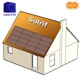 BISOL BIPV Solrif BSU 4080Wp 4R4 Rustic Red set of solar modules img