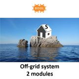 BISOL S Off-Grid Systeem BMU 540Wp Silver Poly img