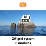 BISOL M Off-Grid Systeem BMU 1620Wp Silver Poly img