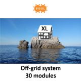 BISOL XL Off-Grid Systeem BMU 8100Wp Silver Poly img