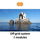 BISOL S Off-Grid Systeem BMU 570Wp Silver Poly img