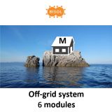 BISOL M Off-Grid Systeem BMU 1710Wp Silver Poly img