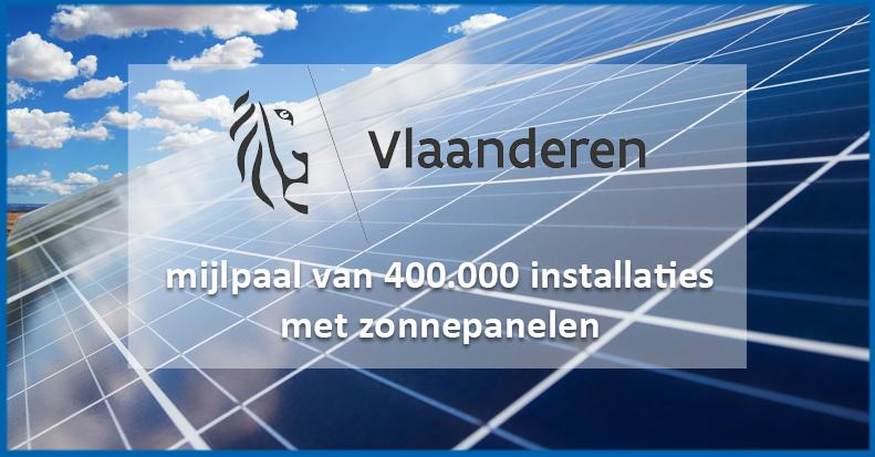 16% Vlaamse woningen heeft zonnepanelen