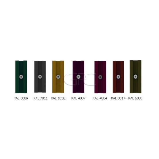 BISOL Spectrum Koppelklem RAL (los) 5708 img