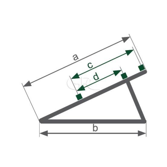 Schletter Driehoeksteun Light U07 1.5M - 30° 212 img