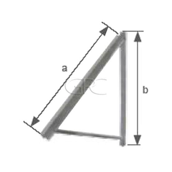 Schletter Muursteun voor Module 1.3-1.6M 30° 216 img