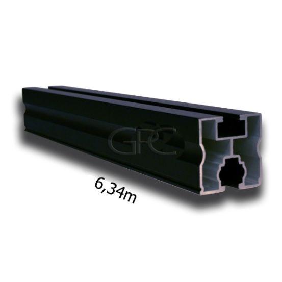 G-fix Aluprofiel 05 - Black Ano (6340*40*40mm) 6318 img