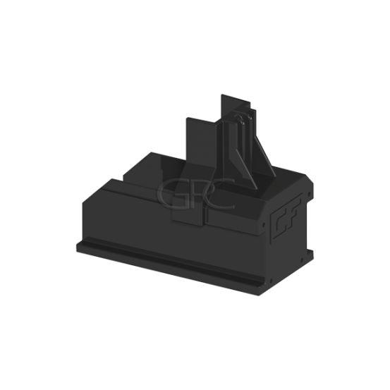 ClickFit EVO - Montagerail Eindkap zwart 6091 img