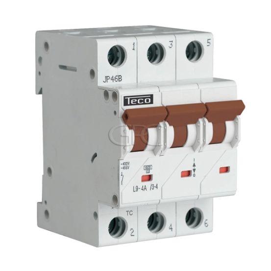 L9C434 / 157224 Teco Modulaire Automaat L9 TC 3P 4A 4.5kA Curve C 2855 img