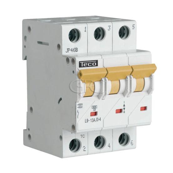L9C1334 / 157227 Teco Modulaire Automaat L9 TC 3P 13A 4.5kA Curve C 2858 img