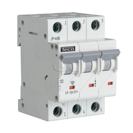L9C1634 / 157228 Teco Modulaire Automaat L9 TC 3P 16A 4.5kA Curve C 2859 img