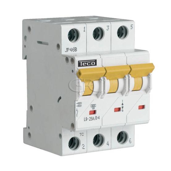 L9C2534 / 157230 Teco Modulaire Automaat L9 TC 3P 25A 4.5kA Curve C 2861 img