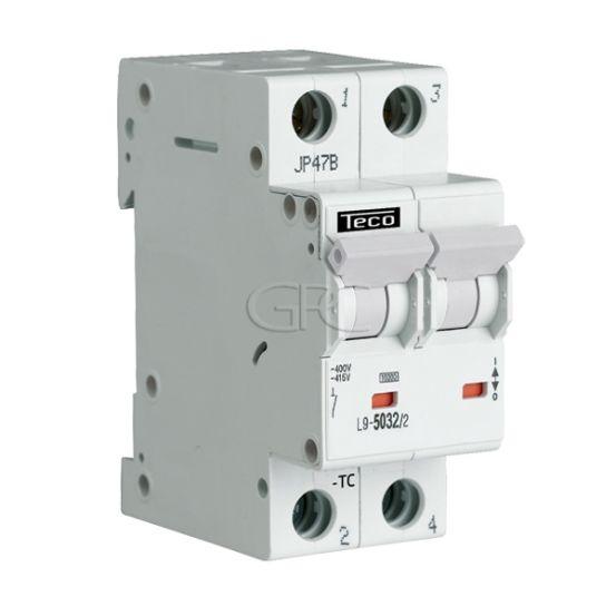 L9C5026 / 157123 Teco Modulaire Automaat L9 TC 2P 50A 6kA Curve C 2874 img
