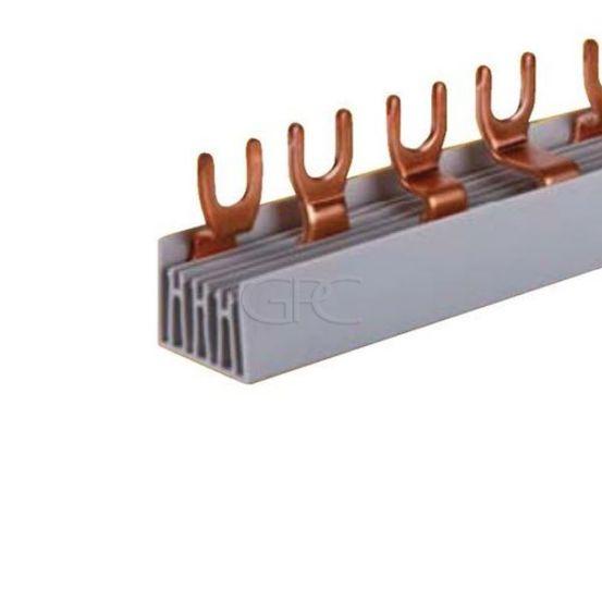 T16420F Teco CONEXBOX Kamgeleider vork voor 3N400 net driefasige verdeling N-L1-L2-L3 80A 16mm² 20 mod 355mm 3790 img
