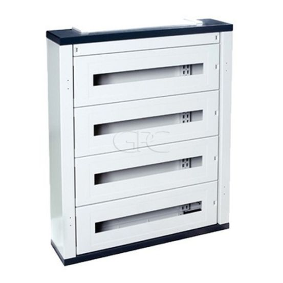 IDE Atlantic Metalen Opbouwkast IP40 3R 72M / 40AS72XX150BW 5275 img