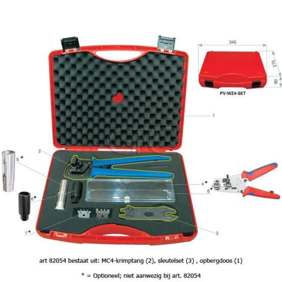 Multi-Contact PV-WZ4-SET Tool Case 32.6019 694 img