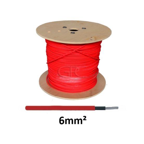 GPC Solarkabel H1Z2Z2-K1 1*6mm² Rood, vertind, 500m trommel 6106 img