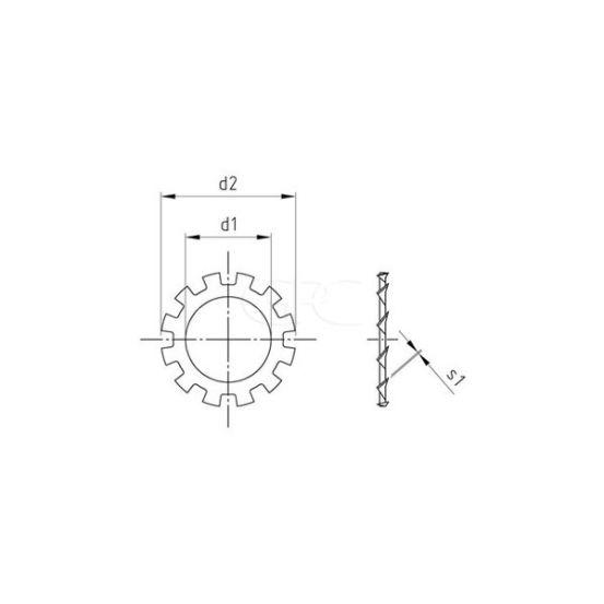 GPC Tandveerring Din 6797 A2 A 8.4 (100) 272 img