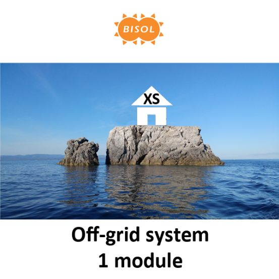BISOL XS Off-Grid Systeem BMU 270Wp Silver Poly 6240 img