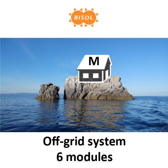 BISOL M Off-Grid Systeem BMU 1620Wp Silver Poly 6242 img