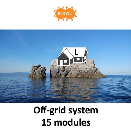 BISOL L Off-Grid Systeem BMU 4050Wp Silver Poly 6243 img