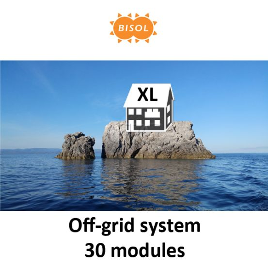 BISOL XL Off-Grid Systeem BMU 8100Wp Silver Poly 6244 img