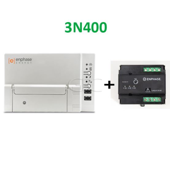 Enphase Envoy-S Standard + Q-Relay 3-Fasig (set) 6430 img