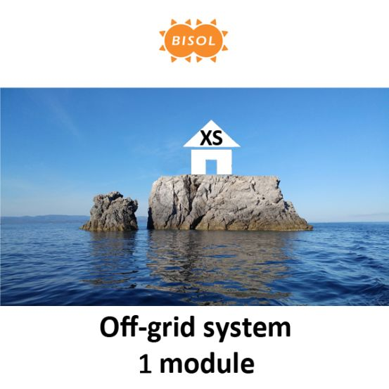 BISOL XS Off-Grid Systeem BMU 285Wp Silver Poly 10154 img