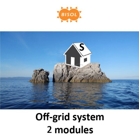 BISOL S Off-Grid Systeem BMU 570Wp Silver Poly 10155 img