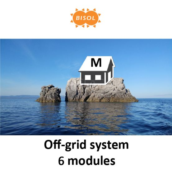 BISOL M Off-Grid Systeem BMU 1710Wp Silver Poly 10156 img