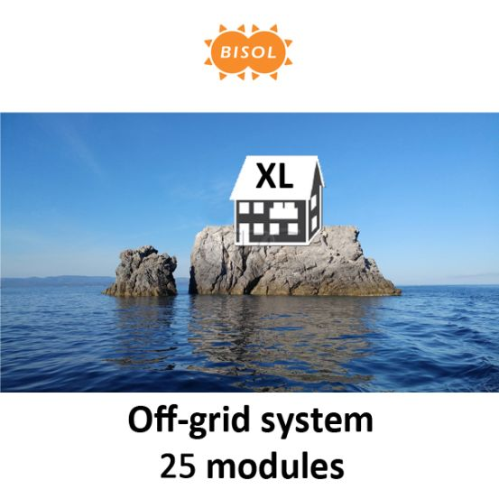 BISOL XL Off-Grid Systeem BMU 7125Wp Silver Poly 10158 img