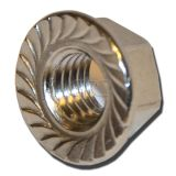 GPC Hexagon Flange Nut with Serration DIN 6923 A2 M10 img