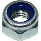 GPC Hexagon Nut with Serration Nylon DIN 985 A2 M6 img