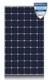 LG 380Q1C-V5 NeON R Black Mono module solaire img