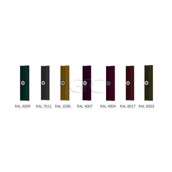 BISOL Spectrum Eindklem RAL (los) 5707 img