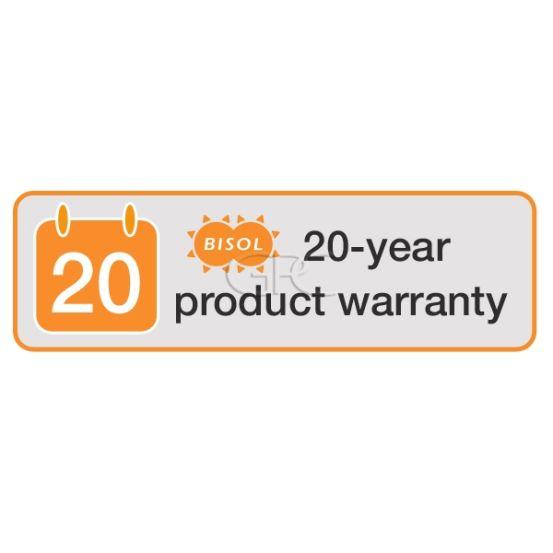 BISOL Productgarantie 15<20 jaar - 255Wp Module 4186 img
