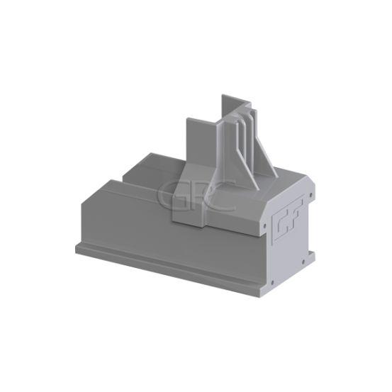 ClickFit EVO - Montagerail Eindkap grijs 6090 img