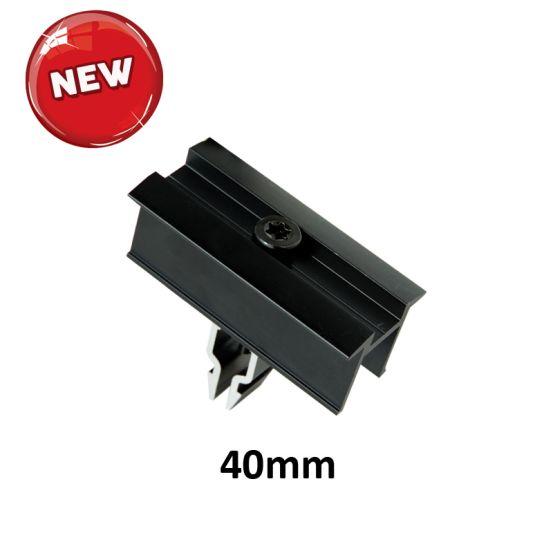 G-fix Koppelklem 40mm Black NEW 10041 img