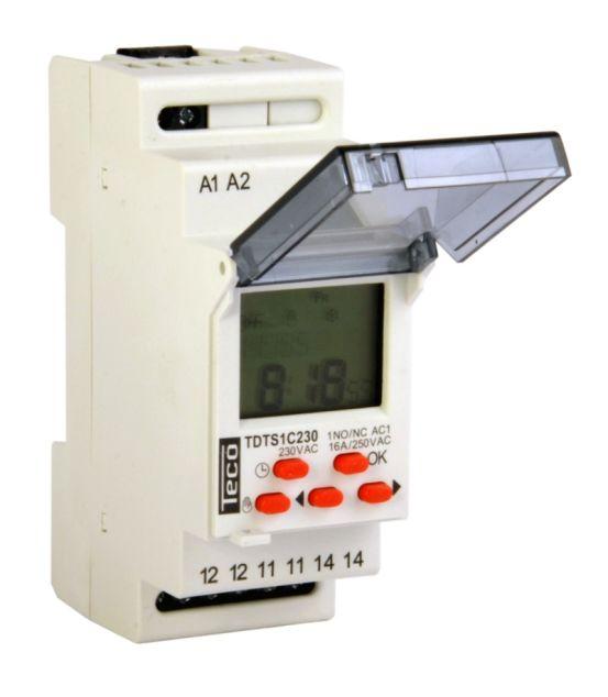 Teco TDTS1C230 Digitale Schakelklok 10374 img