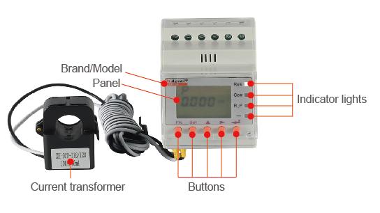 Solis RHI Hybrid 3-Fasige Energiemeter  10400 img