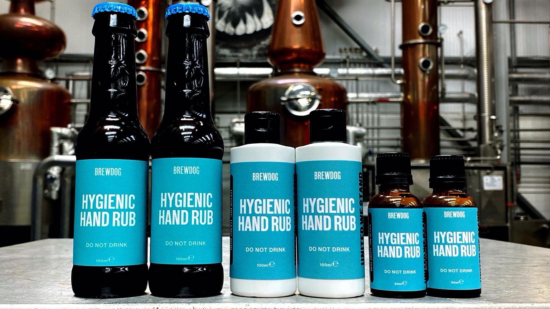 BrewDog Hygienic Hand Rub