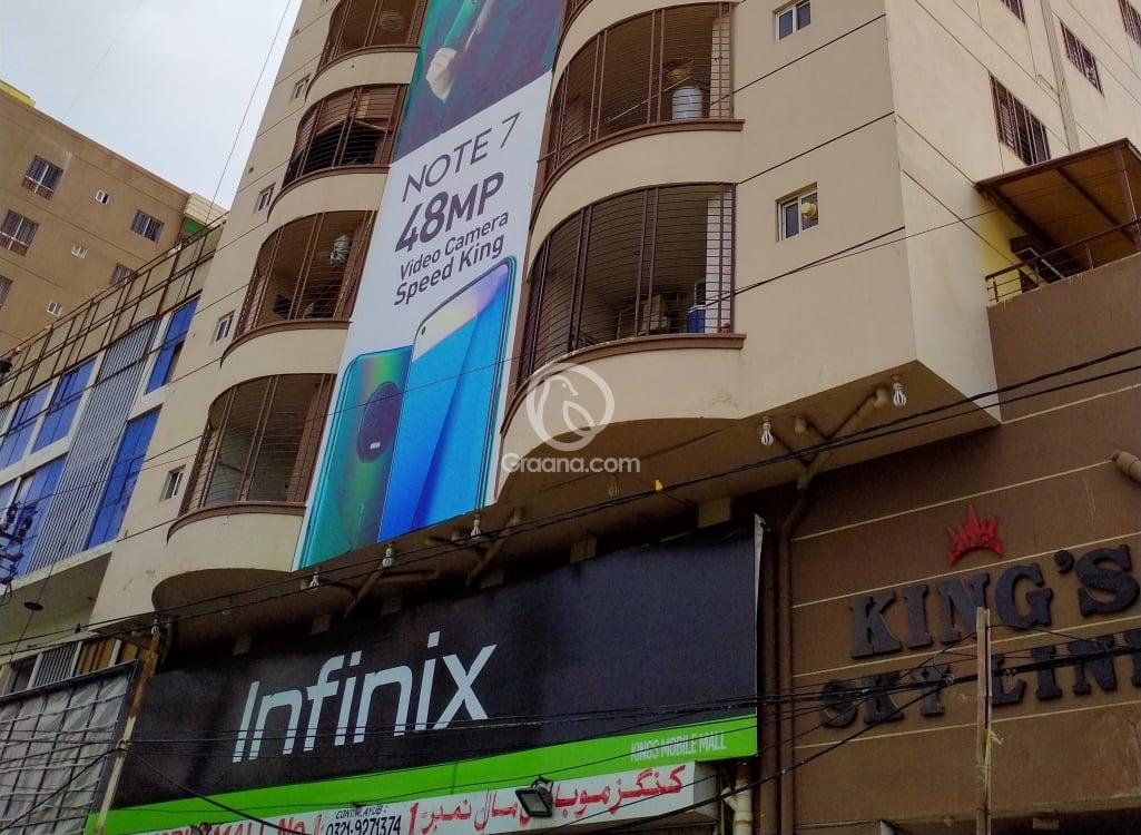 6th Floor 1200 Sqft Apartment for Rent | Graana.com