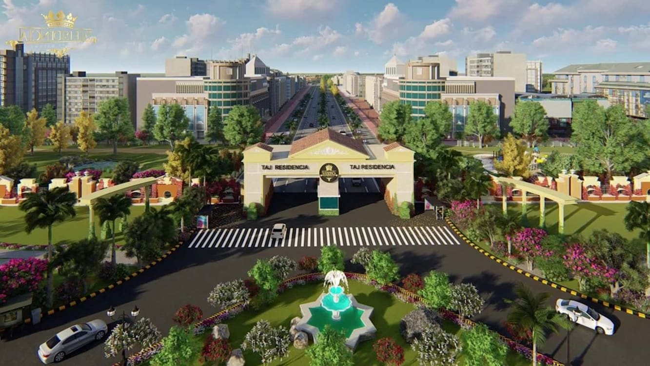 Plots Available in Taj Residencia a Project of Centaurus Mall | Graana.com