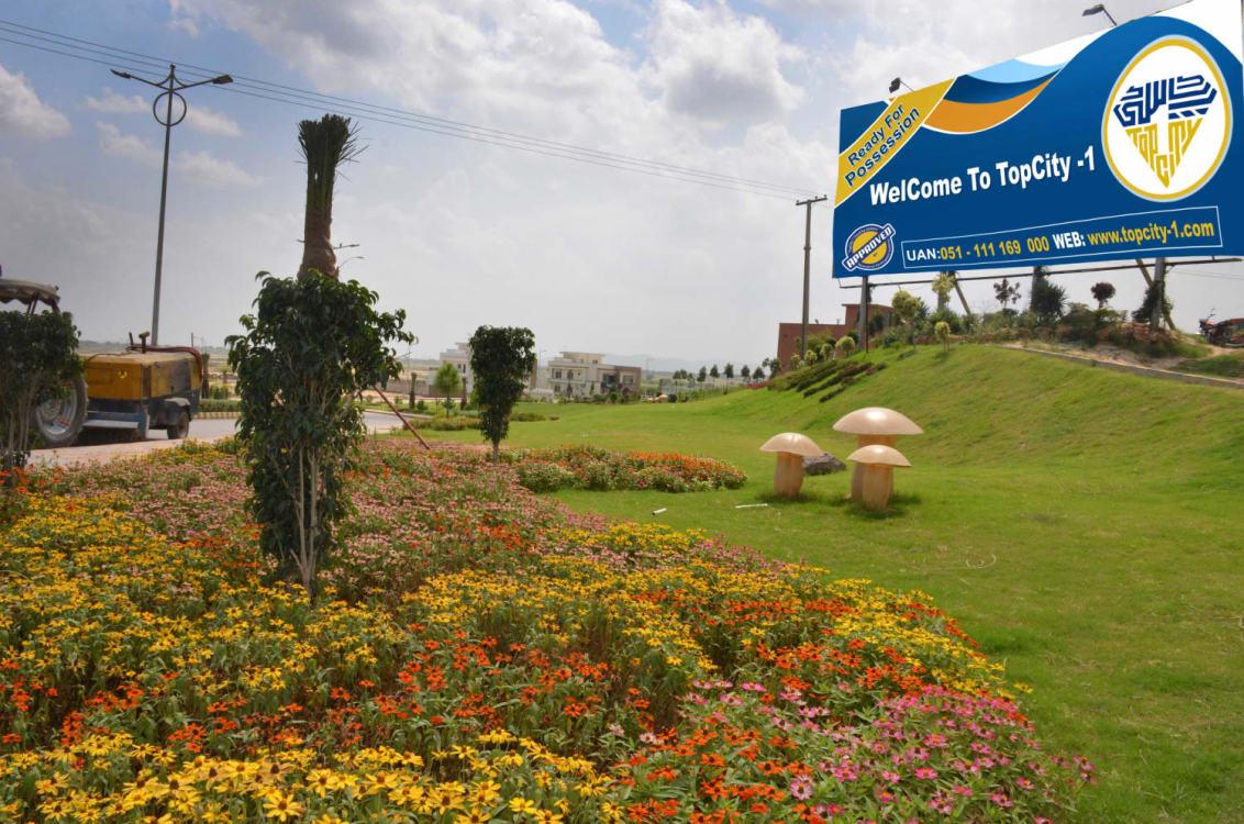 10 Marla Plot for Sale Near New Islamabad International Airport in Block E, TopCity-1   Graana.com