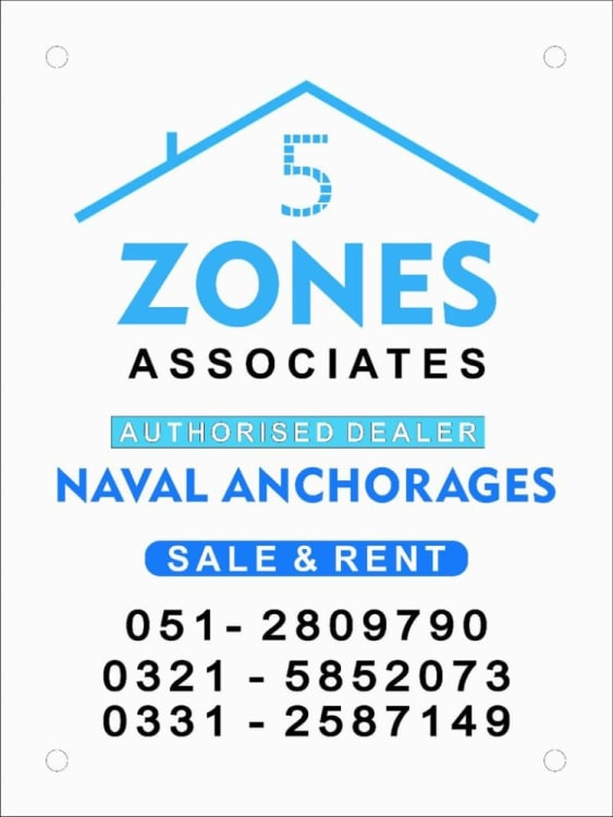1 kanal plot for sale in Naval Anchorage | Graana.com