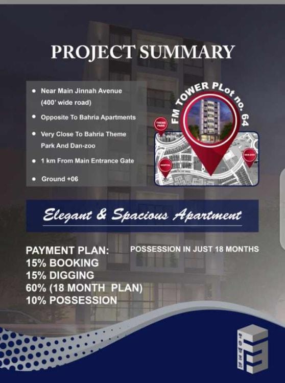 1500 Sqft Apartment for Sale | Graana.com