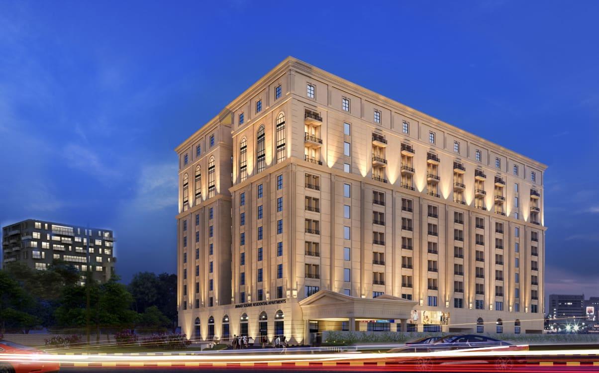 Jinnah Square Residential Apartments, Lahore   Graana.com