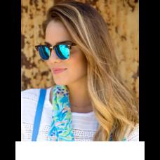 Blue Color Club-Master Type Attractive Goggles Sunglasses