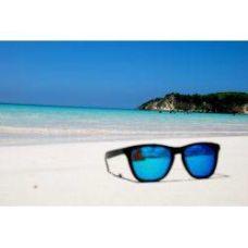 Blue Color Wayfarer Type Fancy Goggles Sunglasses