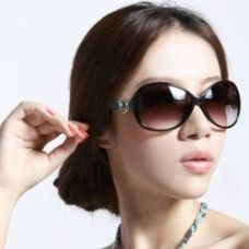 Brown Color Lady Style Fancy Goggles Sunglasses